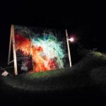 1/4 Supernova im Park der Hamburger Sternwarte